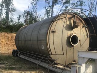 Tanques verticales de 15,000 gals en SS 316 , Equipo Construccion Puerto Rico