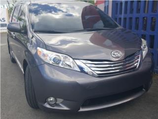 Toyota Sienna 2014 PAGA $436.99 CERO PRONTO, Toyota Puerto Rico