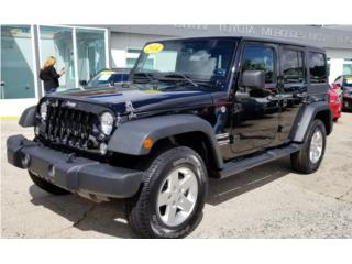 JEEP WRANGLER 2014 UNLIMITED SPORT 4X4!, Jeep Puerto Rico