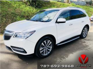 ACURA MDX TECHNOLOGY-2014-$34,995-DESDE $529, Acura Puerto Rico