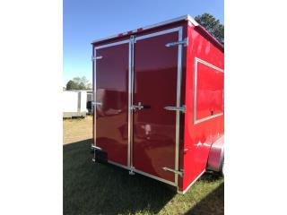 6x12 doble eje concesssion door, Trailers - Otros Puerto Rico