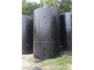 Tanque en CarbonSteel de 12,000 galones, Equipo Construccion Puerto Rico