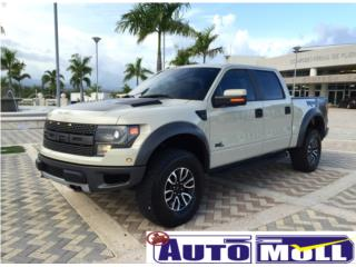 2013 FORD F-150 RAPTOR NAVI/SUNROOF, Ford Puerto Rico