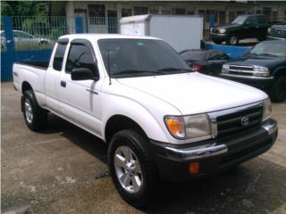 TOYOTA TACOMA CAB1/2 PRE-RUNNER SR-5 V-6 1999, Toyota Puerto Rico