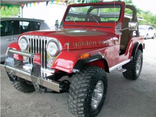 JEEP CJ-5 1979 GOLDEN EAGLE, Jeep Puerto Rico