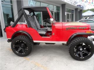 JEEP CJ5 1976, Jeep Puerto Rico