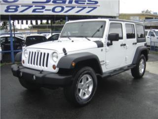 2011 JEEP WRANGLER, Jeep Puerto Rico