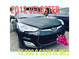 VELOSTER POR $12900 , Hyundai Puerto Rico