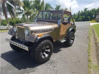 RENEGADE DEL 79 BIEN CUIDADO, Jeep Puerto Rico