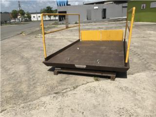 Plataforma Hidráulica 6000lb., Equipo Construccion Puerto Rico