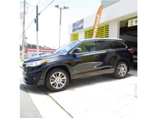 TOYOTA HIGHLANDER XLE 2014, Toyota Puerto Rico