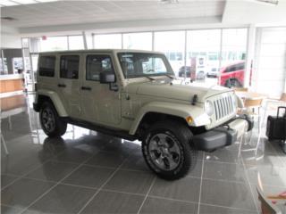 MODELO SAHARA 4X4, Jeep Puerto Rico