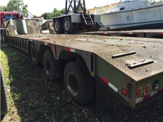 Lowbed Shoals 40 ton. Militar, Plataforma, Equipo Construccion Puerto Rico