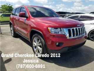 JEEP GRAND CHEROKEE LAREDO 2012, Jeep Puerto Rico