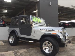 JEEP RENEGADO CJ-7, Jeep Puerto Rico
