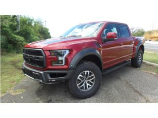 Ford Raptor 2018 Ruby Red, Ford Puerto Rico