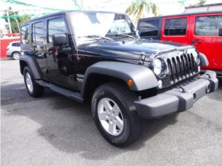 WRANGLER SPORT UNLIMITED 4X4 ! VARIOS !, Jeep Puerto Rico
