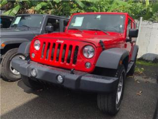 2018 Jeep Wrangler Unlimited Sport 4D SUV 4WD, Jeep Puerto Rico
