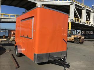 Trailers 7X12 un eje 2019 nuevos food trucks , Trailers - Otros Puerto Rico