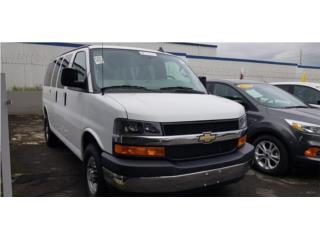 Chevrolet Express 2018 3500 Pass Van, Chevrolet Puerto Rico