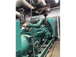 1,100 KW Onan Cummins Generator 277/480V 1993, Equipo Construccion Puerto Rico