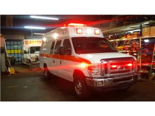 AMBULANCIA 2013 FORD MC COY MILLER GAS 08164, Ford Puerto Rico