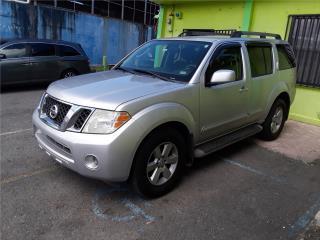 Pathfinder se 3filas 2ac silver , Nissan Puerto Rico