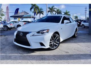 LEXUS IS-200T F-SPORT 2016 //$469 MENS// , Lexus Puerto Rico