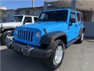 Jeep Wrangler yahtmarina blue , Jeep Puerto Rico