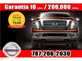 NISSAN PICK UP TITAN 2018, Nissan Puerto Rico