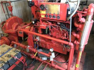 Fire Pump System de 2,500 galones por mins , Equipo Construccion Puerto Rico