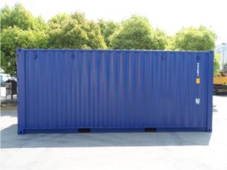 NEW 20' Shipping Container Puerto Rico, Equipo Construccion Puerto Rico