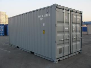Used 20' containers on SALE 20% OFF!, Equipo Construccion Puerto Rico
