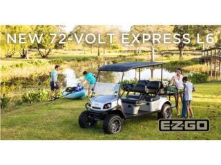 EZGO 6 passenger, Carritos de Golf Puerto Rico