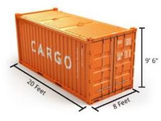 20' Brand New Container in Puerto Rico, Equipo Construccion Puerto Rico