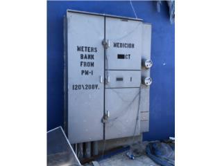 Meters Bank de dos contadores MB 1,250A, Equipo Construccion Puerto Rico