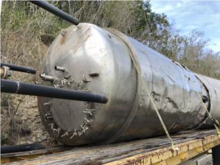 Tanque en stainless steel de 2,000 gals, Equipo Construccion Puerto Rico