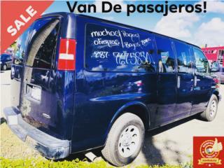 VAN DE PASAJEROS CHEVROLET, Chevrolet Puerto Rico