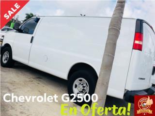 Van comercial de carga G2500, Chevrolet Puerto Rico