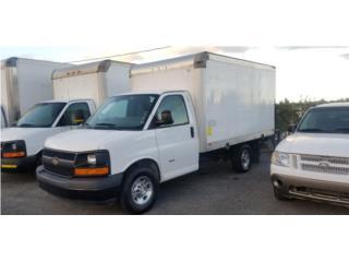 Chevy 3500 Caja Seca con Lifter, Chevrolet Puerto Rico
