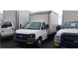 2008 Chevy Express con nevera integrada, Chevrolet Puerto Rico