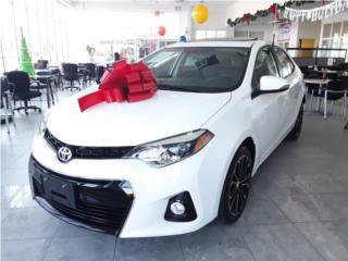 Toyota Corolla S Plus 2016, Toyota Puerto Rico