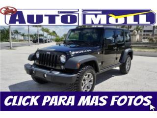 2016 JEEP WRANGLER RUBICON 2000 MILLAS, Jeep Puerto Rico