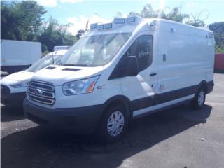 Ambulancia Equipada 2018 FORD Transit 250, Ford Puerto Rico