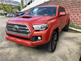 TOYOTA TACOMA TRD SPORT 2017 INFERNO ORANGE, Toyota Puerto Rico