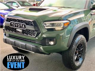 Tacoma TRD Pro Army green 2020, Toyota Puerto Rico
