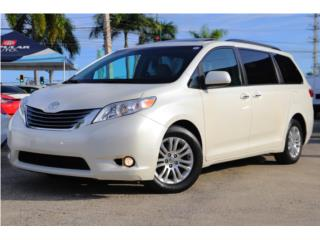 TOYOTA SIENNA XLE 2017 AWD EMPERLADA MIRALA!, Toyota Puerto Rico