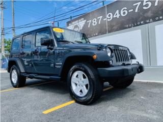 Jeep Wrangler JK Unlimited Sport S | 2018! , Jeep Puerto Rico