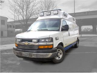 AMBULANCE 2012 CHEVY WHELED COACH DIESEL, Chevrolet Puerto Rico