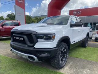 RAM REBEL 4x4 QUAD 2019 BLANCA COMO NUEVA!!!, RAM Puerto Rico